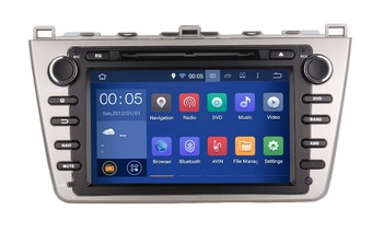 2DIN Android 1024*600 OCTA/Quad Core Fit MAZDA 6 Ruiyi Ultra 2008-20016 Dvd-плеер Автомобиля мультимедиа Gps-навигация NAVI GPS Радио