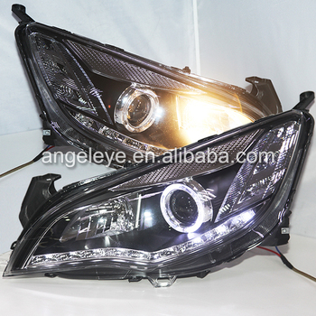 2010-2013 Год для Buick Excelle XT Opel Astra LED Angel Eyes Bi Xenon Объектив Проектора LD