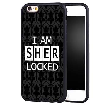 Лидер продаж I AM sherlocked Холмс чехол для iPhone 5C 5 5S SE 6 6 Plus 6S 7 7 Plus