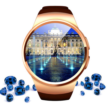 О Bluetooth Smart часы подходят Android/IOS Телефон Heart Rate синхронизации вызова Messager SmartWatch TF sim-карты Камера поддерживает