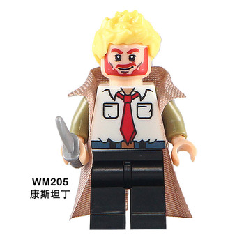 POGO 100 шт. WM205 Константин Сшитое DC Super Hero Hellblazer Building Blocks Набор Модель DIY Игрушка для Детей Hobbi